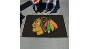 Fan Mats 10370  NHL - Chicago Blackhawks 5' x 8' Ulti-Mat Area Rug / Mat