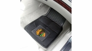 "Fan Mats 10371  NHL - Chicago Blackhawks 17"" x 27"" Heavy Duty Vinyl Car Mat Set"