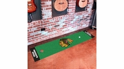 "Fan Mats 10373  NHL - Chicago Blackhawks 18"" x 72"" Putting Green Mat"