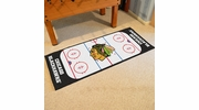"Fan Mats 10374  NHL - Chicago Blackhawks 30"" x 72"" Rink-Shaped Runner Rug"