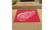 """Fan Mats 10377  NHL - Detroit Red Wings 33.75"""" x 42.5"""" All-Star Series Area Rug / Mat"""