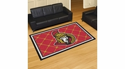Fan Mats 10431  NHL - Ottawa Senators 5' x 8' Area Rug