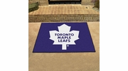 "Fan Mats 10440  NHL - Toronto Maple Leafs 33.75"" x 42.5"" All-Star Series Area Rug / Mat"