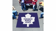 Fan Mats 10441  NHL - Toronto Maple Leafs 5' x 6' Tailgater Mat / Area Rug