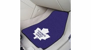 "Fan Mats 10443  NHL - Toronto Maple Leafs 17"" x 27"" Carpeted Car Mat Set"
