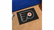 "Fan Mats 10480  NHL - Philadelphia Flyers 19"" x 30"" Starter Series Area Rug / Mat"