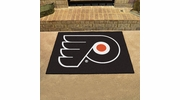 "Fan Mats 10481  NHL - Philadelphia Flyers 33.75"" x 42.5"" All-Star Series Area Rug / Mat"