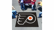 Fan Mats 10482  NHL - Philadelphia Flyers 5' x 6' Tailgater Mat / Area Rug