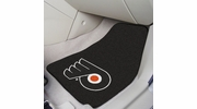 "Fan Mats 10485  NHL - Philadelphia Flyers 17"" x 27"" Carpeted Car Mat Set"