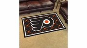 Fan Mats 10489  NHL - Philadelphia Flyers 4' x 6' Area Rug