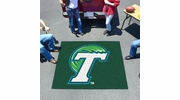 Fan Mats 1049  Tulane University Green Wave 5' x 6' Tailgater Mat / Area Rug