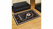 Fan Mats 10490  NHL - Philadelphia Flyers 5' x 8' Area Rug