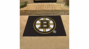 "Fan Mats 10492  NHL - Boston Bruins 33.75"" x 42.5"" All-Star Series Area Rug / Mat"