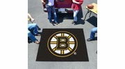 Fan Mats 10493  NHL - Boston Bruins 5' x 6' Tailgater Mat / Area Rug
