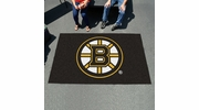 Fan Mats 10494  NHL - Boston Bruins 5' x 8' Ulti-Mat Area Rug / Mat