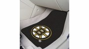 "Fan Mats 10496  NHL - Boston Bruins 17"" x 27"" Carpeted Car Mat Set"
