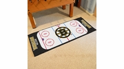 "Fan Mats 10499  NHL - Boston Bruins 30"" x 72"" Rink-Shaped Runner Rug"