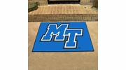 "Fan Mats 105  MTSU - Middle Tennessee State University Blue Raiders 33.75"" x 42.5"" All-Star Series Area Rug / Mat"