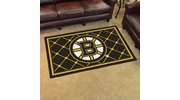 Fan Mats 10500  NHL - Boston Bruins 4' x 6' Area Rug