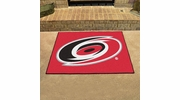 "Fan Mats 10525  NHL - Carolina Hurricanes 33.75"" x 42.5"" All-Star Series Area Rug / Mat"