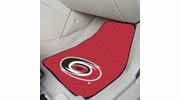 "Fan Mats 10529  NHL - Carolina Hurricanes 17"" x 27"" Carpeted Car Mat Set"