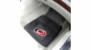 "Fan Mats 10530  NHL - Carolina Hurricanes 17"" x 27"" Heavy Duty Vinyl Car Mat Set"
