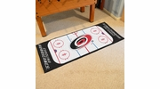 "Fan Mats 10532  NHL - Carolina Hurricanes 30"" x 72"" Rink-Shaped Runner Rug"