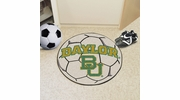 "Fan Mats 1054  Baylor University Bears 27"" Diameter Soccer Ball Shaped Area Rug"