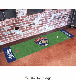 "Fan Mats 10542  NHL - Florida Panthers 18"" x 72"" Putting Green Mat"