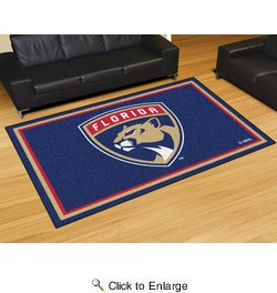 Fan Mats 10545  NHL - Florida Panthers 5' x 8' Area Rug