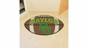"Fan Mats 1055  Baylor University Bears 20.5"" x 32.5"" Football Shaped Area Rug"