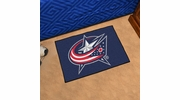 "Fan Mats 10568  NHL - Columbus Blue Jackets 19"" x 30"" Starter Series Area Rug / Mat"