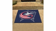 "Fan Mats 10569  NHL - Columbus Blue Jackets 33.75"" x 42.5"" All-Star Series Area Rug / Mat"