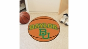 "Fan Mats 1057  Baylor University Bears 27"" Diameter Basketball Shaped Area Rug"