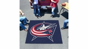 Fan Mats 10570  NHL - Columbus Blue Jackets 5' x 6' Tailgater Mat / Area Rug