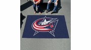 Fan Mats 10571  NHL - Columbus Blue Jackets 5' x 8' Ulti-Mat Area Rug / Mat