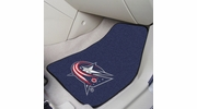 "Fan Mats 10573  NHL - Columbus Blue Jackets 17"" x 27"" Carpeted Car Mat Set"