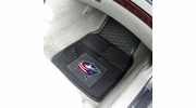 "Fan Mats 10574  NHL - Columbus Blue Jackets 17"" x 27"" Heavy Duty Vinyl Car Mat Set"
