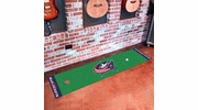 "Fan Mats 10575  NHL - Columbus Blue Jackets 18"" x 72"" Putting Green Mat"