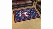 Fan Mats 10577  NHL - Columbus Blue Jackets 4' x 6' Area Rug