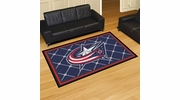 Fan Mats 10578  NHL - Columbus Blue Jackets 5' x 8' Area Rug