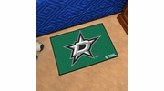"Fan Mats 10634  NHL - Dallas Stars 19"" x 30"" Starter Series Area Rug / Mat"