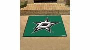 "Fan Mats 10635  NHL - Dallas Stars 33.75"" x 42.5"" All-Star Series Area Rug / Mat"