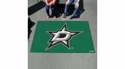 Fan Mats 10637  NHL - Dallas Stars 5' x 8' Ulti-Mat Area Rug / Mat