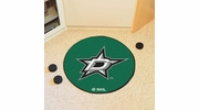 "Fan Mats 10638  NHL - Dallas Stars 27"" Diameter Puck-Shaped Area Rug"