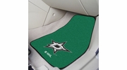 "Fan Mats 10639  NHL - Dallas Stars 17"" x 27"" Carpeted Car Mat Set"