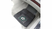 "Fan Mats 10640  NHL - Dallas Stars 17"" x 27"" Heavy Duty Vinyl Car Mat Set"