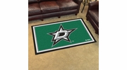 Fan Mats 10643  NHL - Dallas Stars 4' x 6' Area Rug