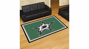Fan Mats 10644  NHL - Dallas Stars 5' x 8' Area Rug