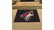"Fan Mats 10657  NHL - Arizona Coyotes 33.75"" x 42.5"" All-Star Series Area Rug / Mat"